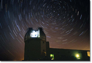 2.4-meter Telescope starry night picture #MRO/MROI/mro