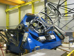 MROI Unit Telescope at AMOS in Belgium