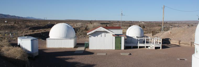 Etscorn Observatory. #MRO/mro