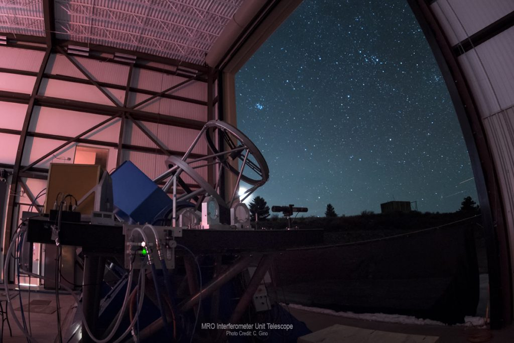 MRO Interferometer Unit Telescope