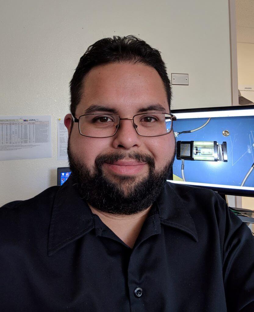 MRO employee Chris Salcido staff photo